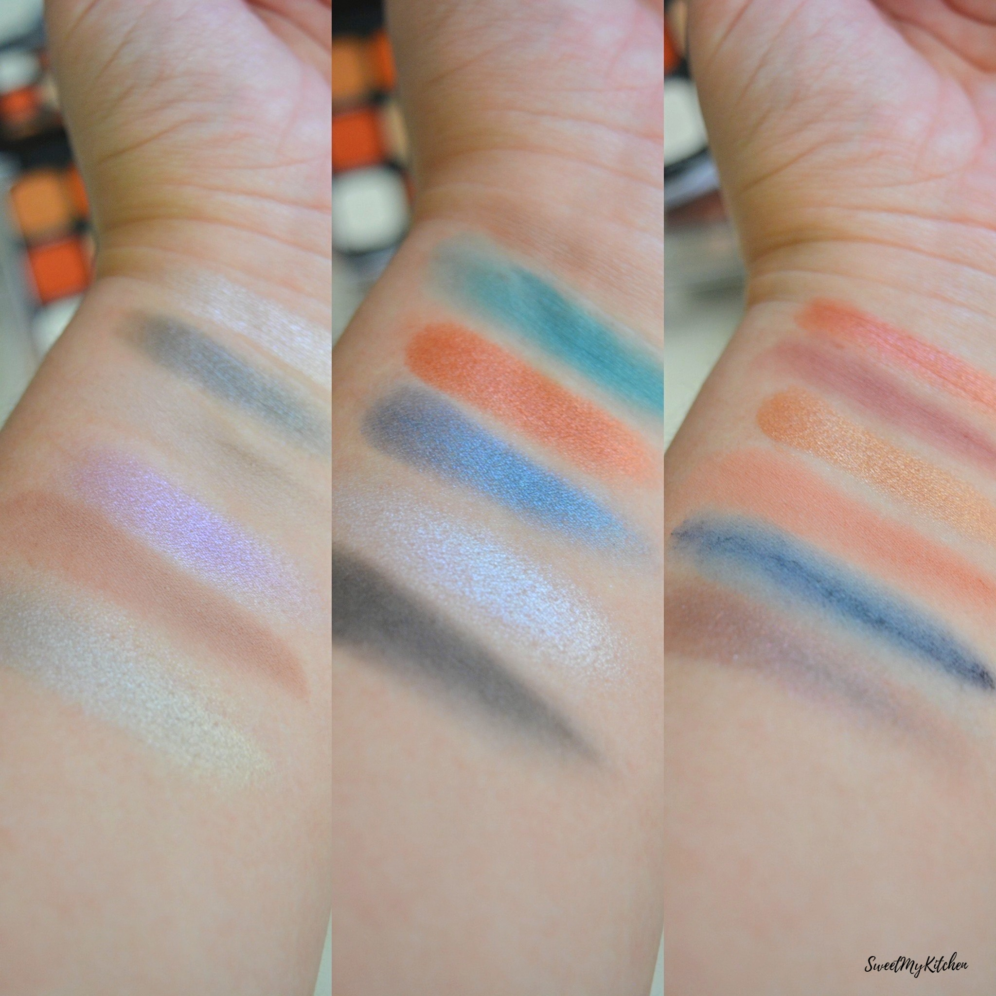 Makeup Revolution Forever Flawless Optimum swatches