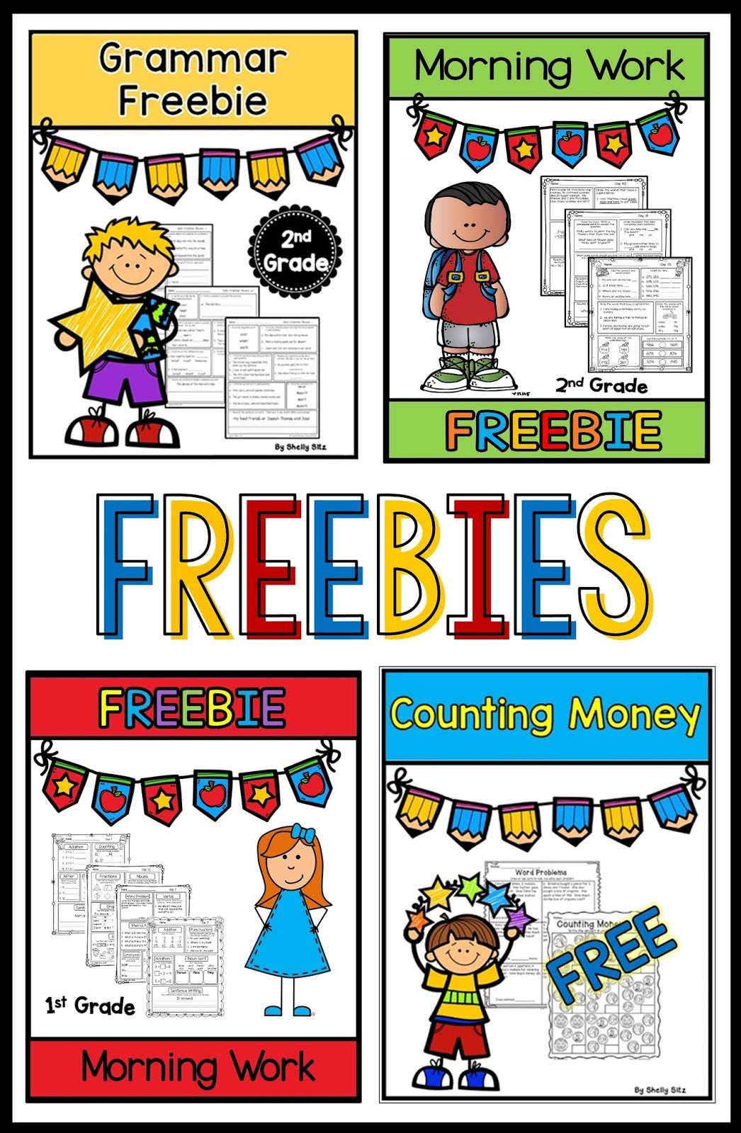 small resolution of Smiling and Shining in Second Grade: Morning Work Freebies