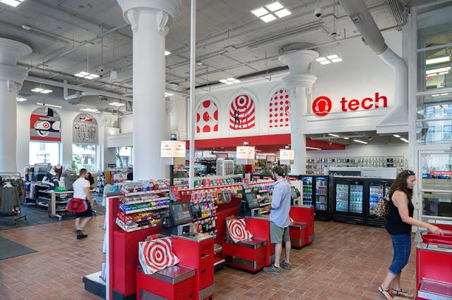 Compra de notebook e laptop na Target na Califórnia