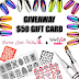 Giveaway #1 What's Up Nails - $50 gift card!