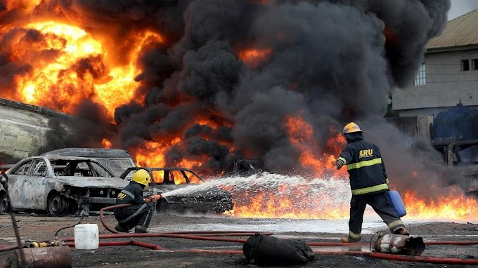 Pipeline fire kills 2 in Lagos