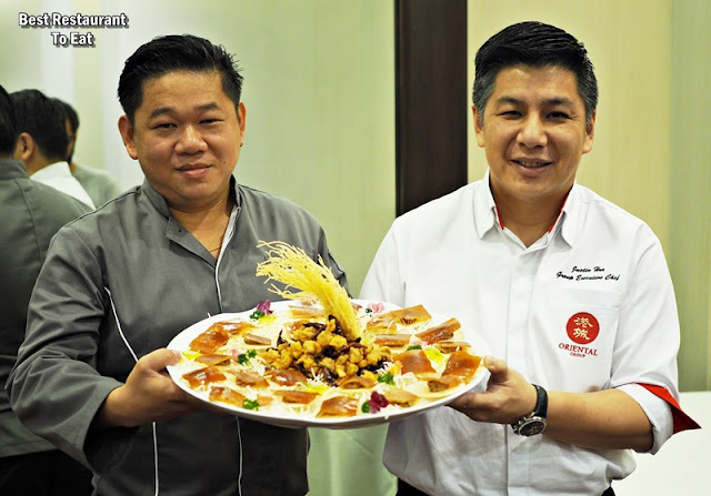 Oriental Group Of Restaurant Present China & Nanyang By Chef Justin Hor and Chef James Ho