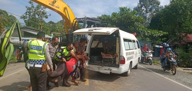 Kecelakaan Maut di Jalur Trans Kalimantan Desa Mintin Tewaskan Dua Orang