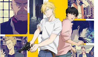 Promocional del anime de Banana Fish