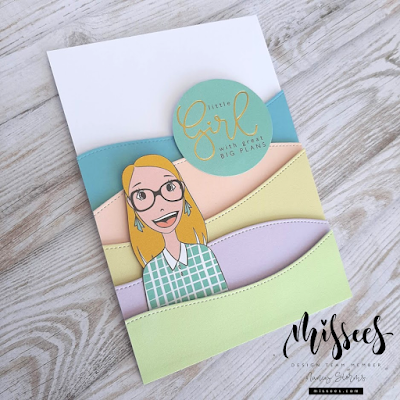 Missees By Karin Joan - Little girl with great big plans