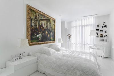 Desain Interior Warna Putih Dan Elegan
