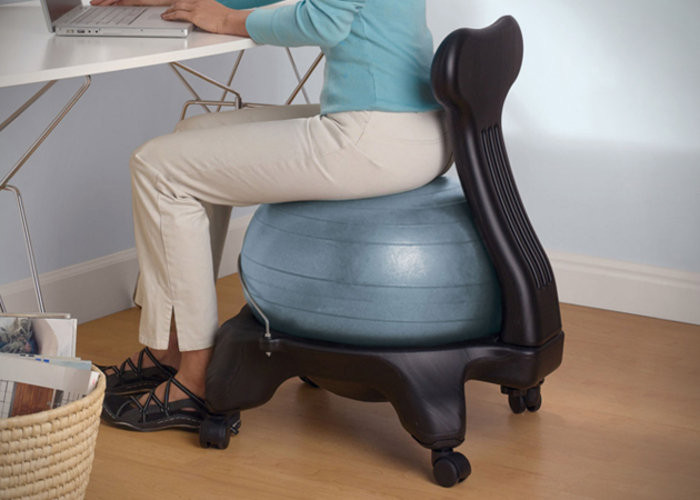 Fitball chairs Small Business idea