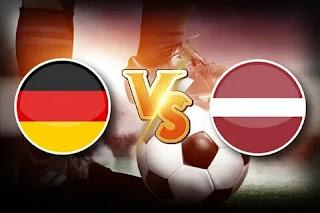 Германия – Латвия где СМОТРЕТЬ ОНЛАЙН БЕСПЛАТНО 07 июня 2021 (ПРЯМАЯ ТРАНСЛЯЦИЯ) в 21:45 МСК.