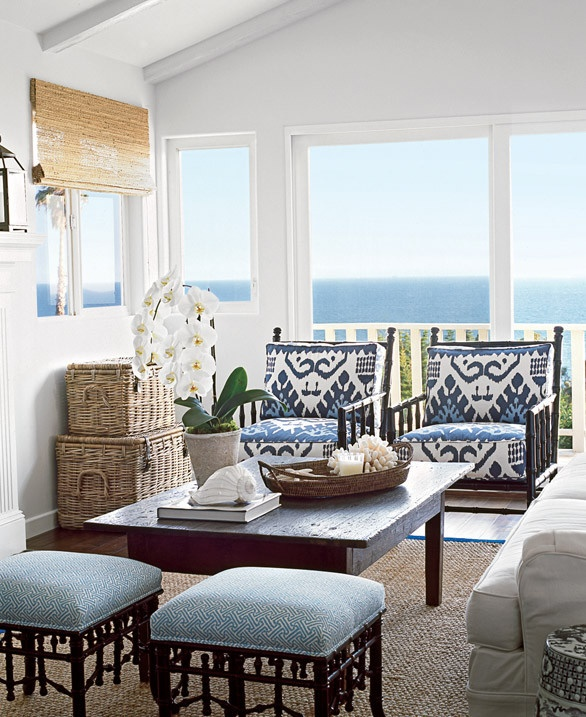 Elegant Beach House Decor: Chinoiserie Chic: Coastal Chinoiserie