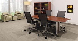 TransAction Series High Tech Powered Conference Table by Mayline