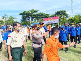 Satgas Bencana Kabupaten Sinjai Gelar Apel Kesiapan Personel dan Peralatan SAR