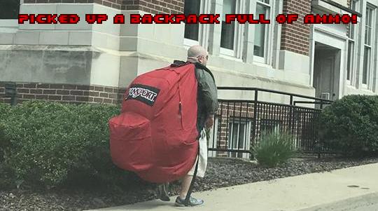 Got back...pack