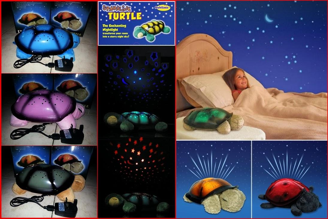 Twilight Turtle Night Lamp Lampu Tidur Kura