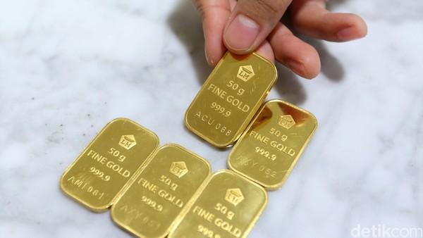 Harga Emas Antam Turun Rp 4.000 Jadi Rp 743.000/Gram