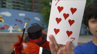 Magic Murray has a trick show, Sesame Street Episode 4401 Telly gets Jealous season 44