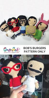 Bobs Burger's Crochet Patterns