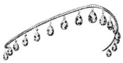 Tiara Mania: Lilian Nordica's Diamond Drop Tiara