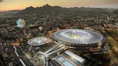 PES 2020 Stadium Aerial View Veltins Arena & Maracanã by Jostike Games