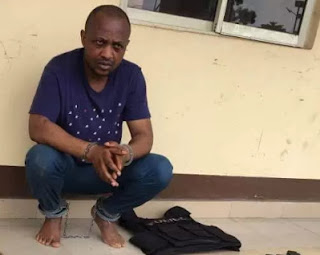 arms ammunition recovered from Evans the kidnapper home in magodo