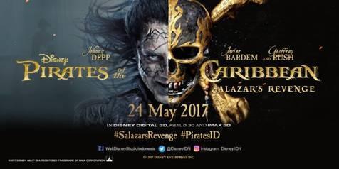Kisah 5 Karakter Utama PIRATES OF THE CARIBBEAN: SALAZAR'S REVENGE