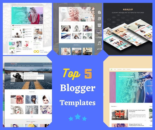 Top 5 premium Blogger templates RayThemes