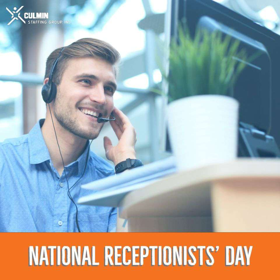 National Receptionists Day Wishes Images download