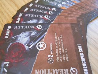 Fireteam Zero advanced action cards.