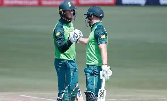 2nd ODI South Africa batting against Pakistan