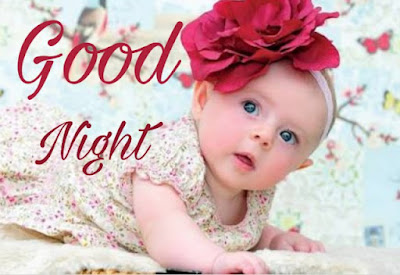 cute baby good night image pics pictures download