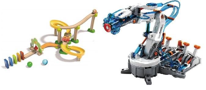 Circuito de bolas Kullerbü y Brazo robótico Hidráulico de Worldbrands