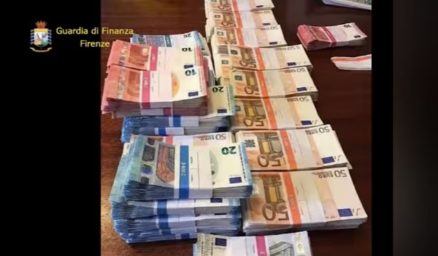 Traffico internazionale di banconote contraffatte - oscurati 20 canali telematici