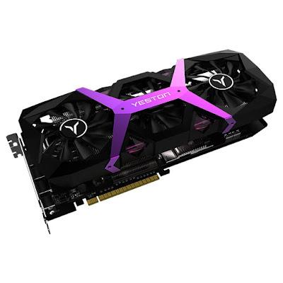 Yeston Radeon RX590-8G