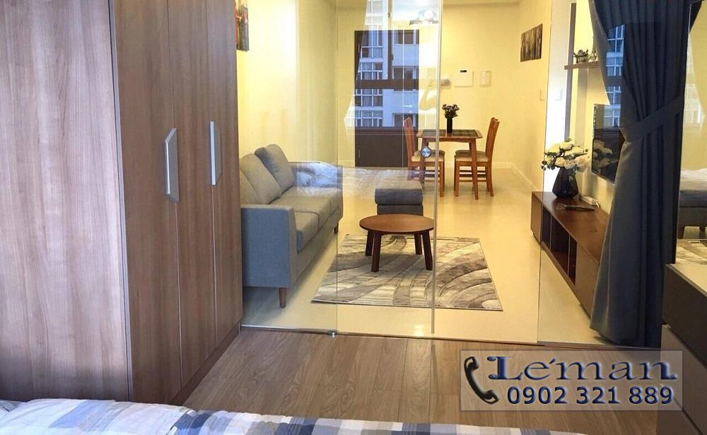 Cho thuê căn hộ Leman 2PN - không gian căn hộ