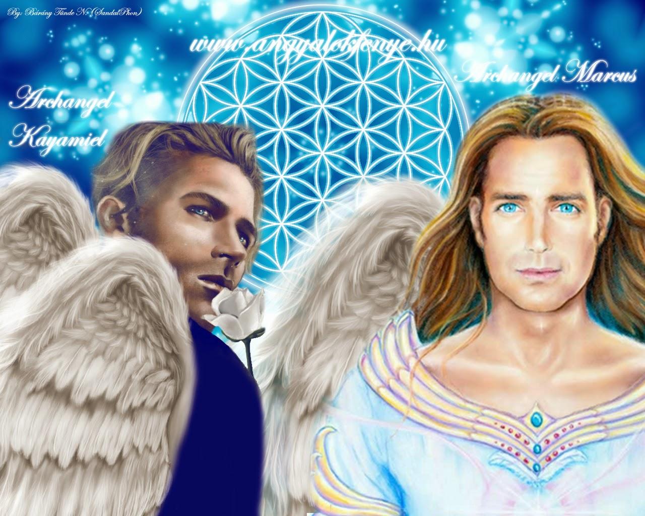 Egy angyalcsoport élményei /Kayamiel és Marcus arkangyal/