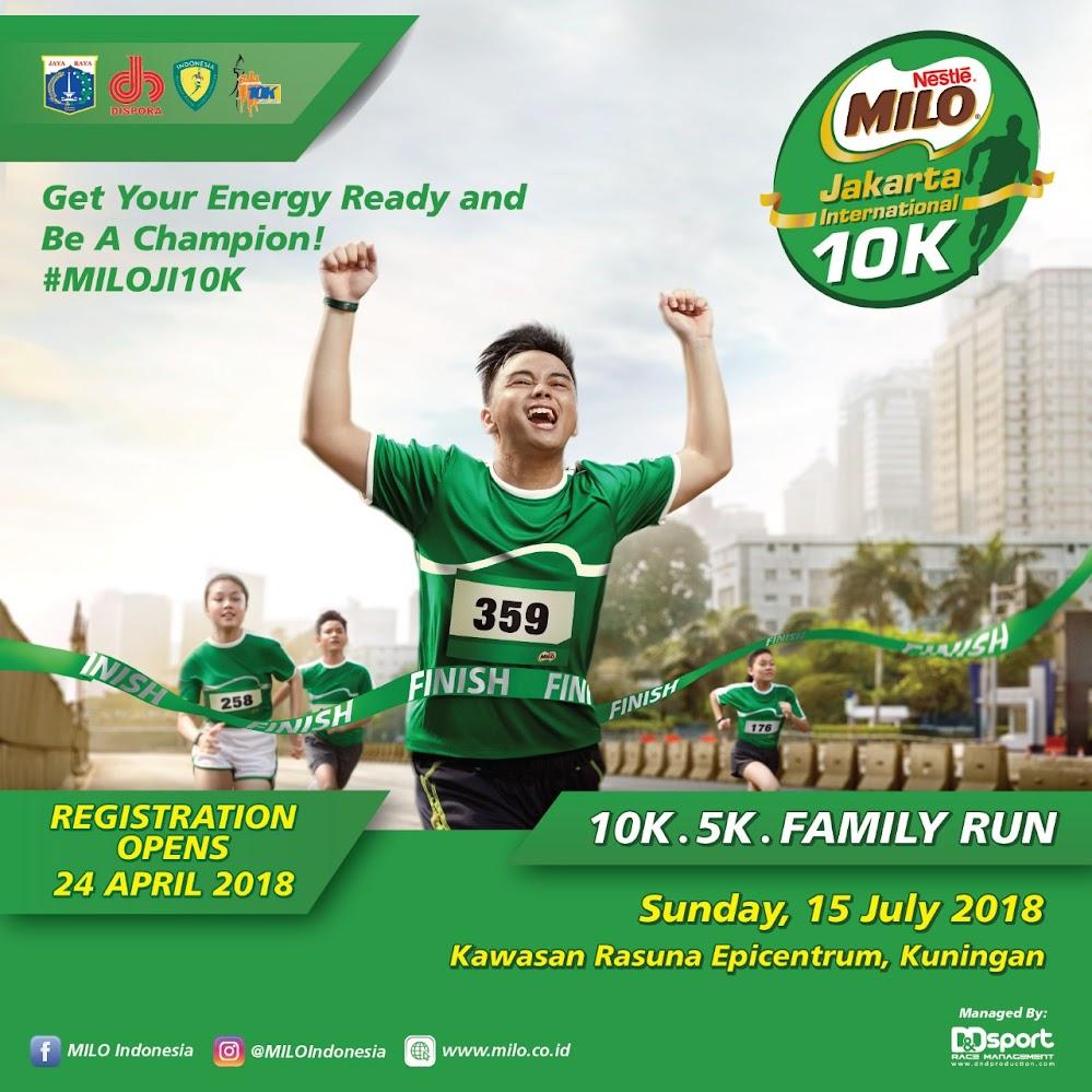 Milo Jakarta International 10K • 2018