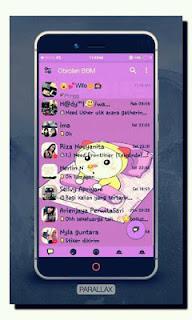 BBM MOD Parallax Dorami V3.0.1.25 Apk No FC