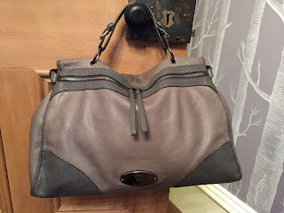 Mulberry Taylor Oversized Satchel in Mole Grey Soft Matte
