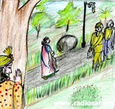 the obstacle path story with moral in english.