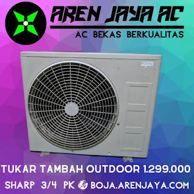 Jual Outdoor AC Sharp 3/4 PK Gratis Pemasangan Semarang