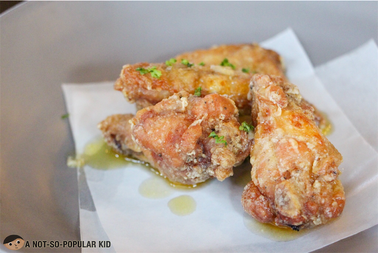 Garlic Parmesan Wings of Hops & Brews
