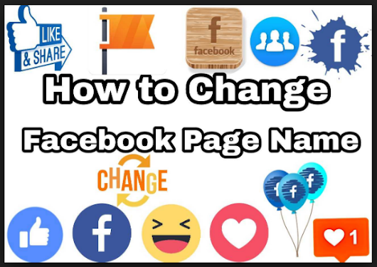 How to Change a Facebook Page Name
