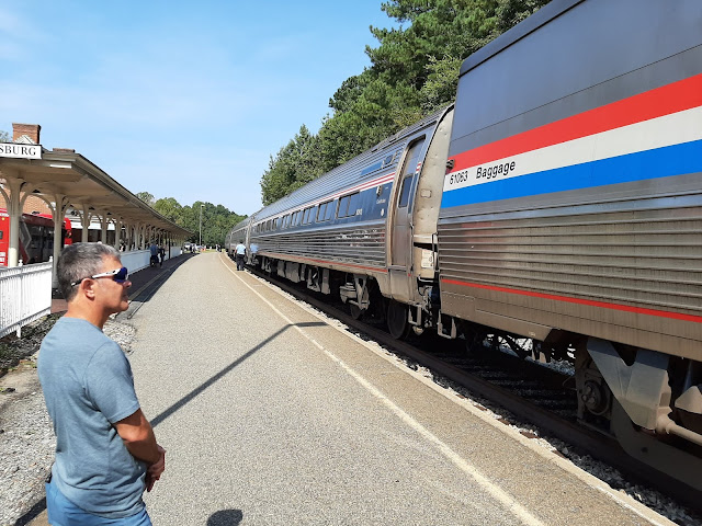 Traveling by Amtrak and Bicycle