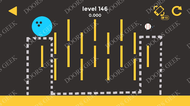 Ball & Ball Level 146 Solution, Walkthrough, Cheats for android and ios