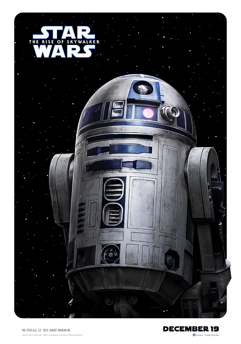 Star Wars: The Rise of Skywalker r2d2 poster
