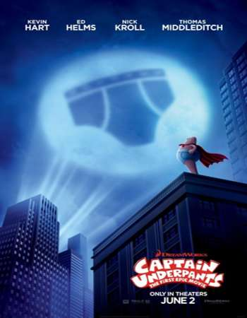 Captain Underpants The First Epic Movie 2017 English 700MB HDCAM x264