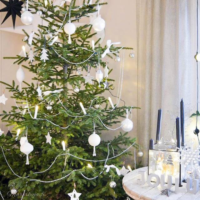 aito joulukuusi metsakuusi joulu.