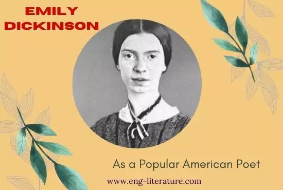 Emily Dickinson as a Popular American Poet, Emily Dickinson Poems PDF