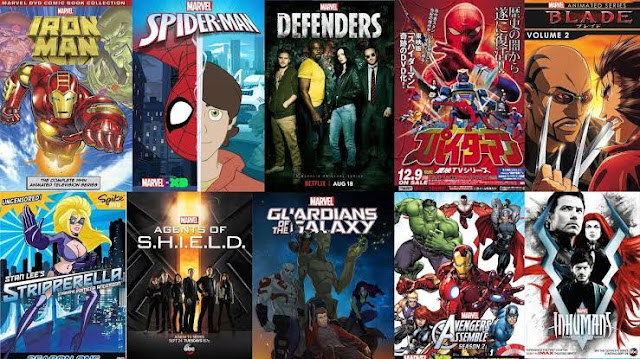 Marvel animated series, top, best