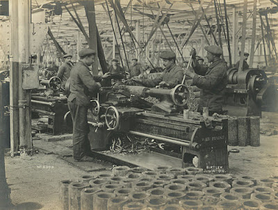 National Projectile Factory, Birtley, June 1916, Tyne & Wear Archives & Museums ref. 1027/271