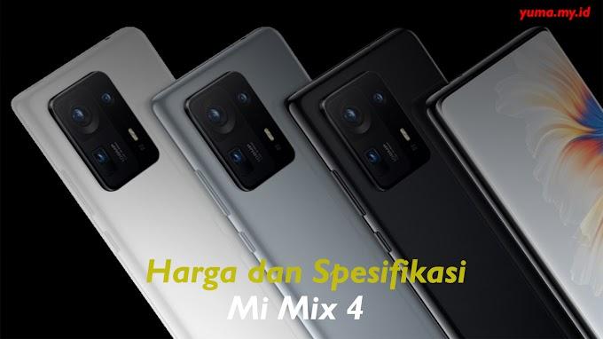 Harga Hp Xiaomi Mi Mix 4 Terbaru Lengkap Dengan Spesifikasinya September 2021